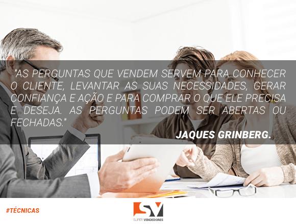 Coaching em vendas - Palestrante Jaques Grinberg